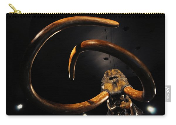 Columbian Mammoth La Brea Tar Pits Carry-all Pouch