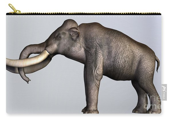 Columbian Mammoth Side Profile Carry-all Pouch