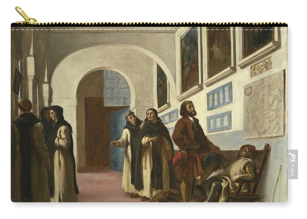 Columbus And His Son At La Rabida Carry-all Pouch
