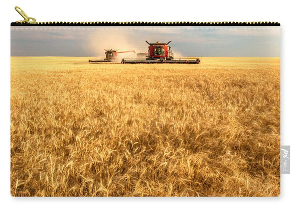 Combines Cutting Wheat Carry-all Pouch