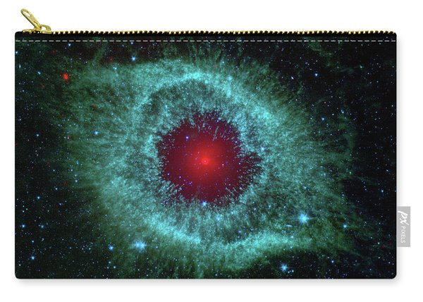 Comets Kick Up Dust In Helix Nebula  Carry-all Pouch