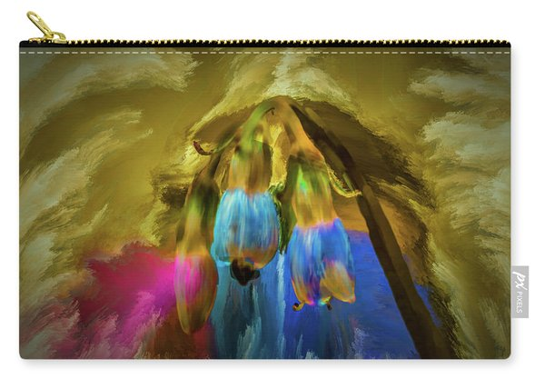 Comfrey Paint #h8 Carry-all Pouch