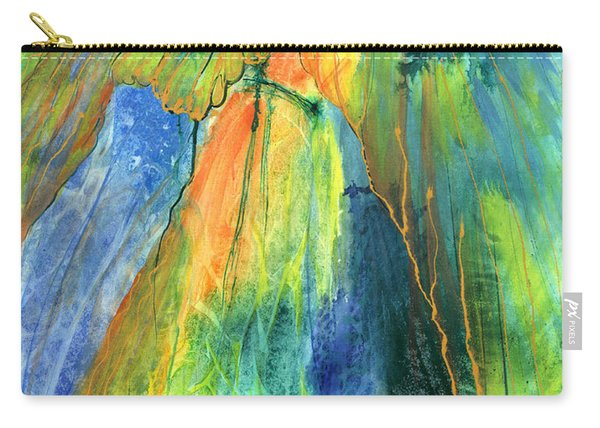 Carry-all Pouch featuring the painting Coming Lord by Nancy Cupp