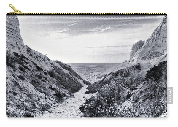 Carry-all Pouch featuring the photograph Coming Through by Alison Frank