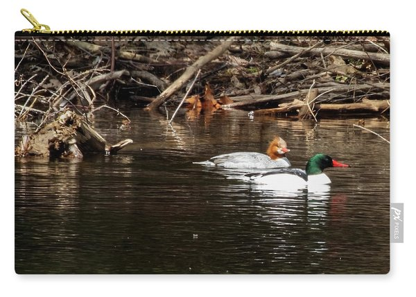 Common Mergansers Carry-all Pouch