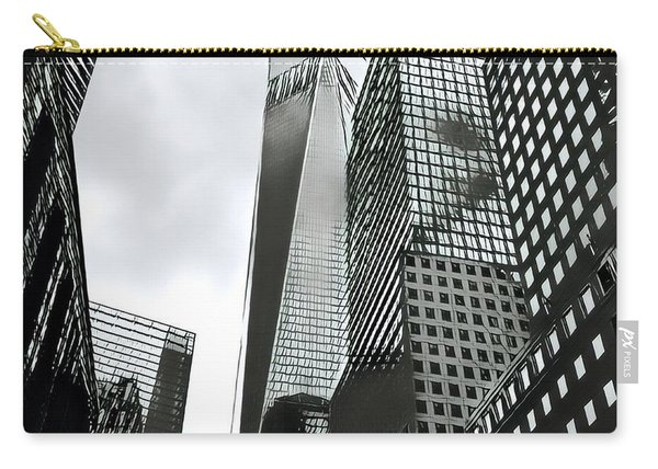 Commuters' View Of 1 World Trade Center Carry-all Pouch