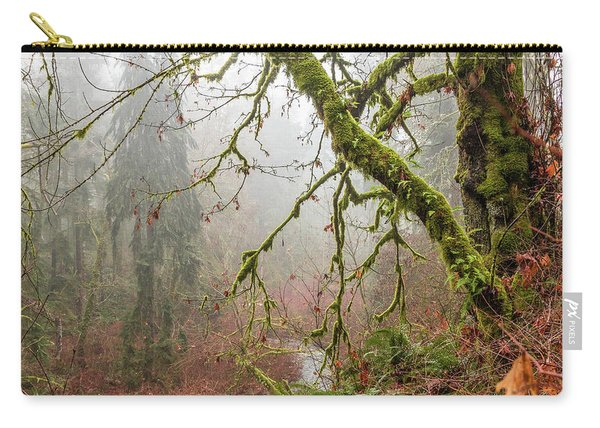 Mist In The Forest Carry-all Pouch