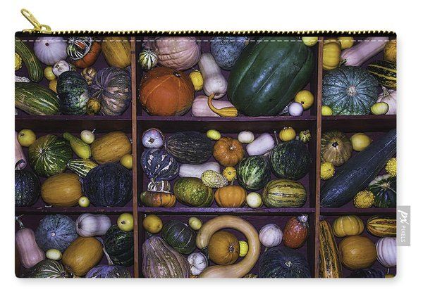 Compartments Of Gourds Carry-all Pouch