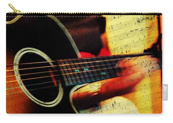 Composing Hallelujah. Music From The Heart  Carry-all Pouch