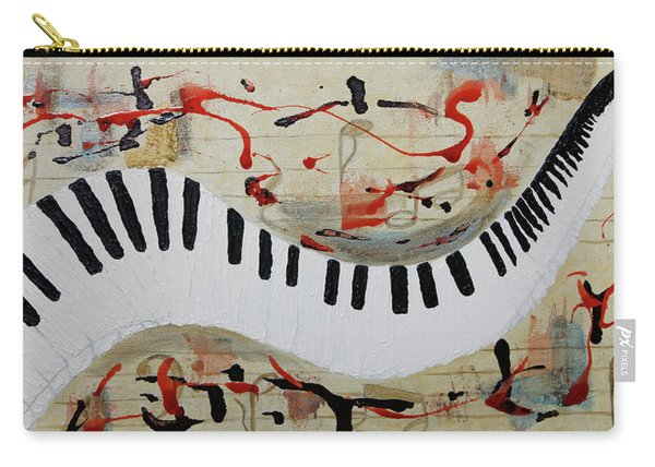 Let The Music Play On Carry-all Pouch