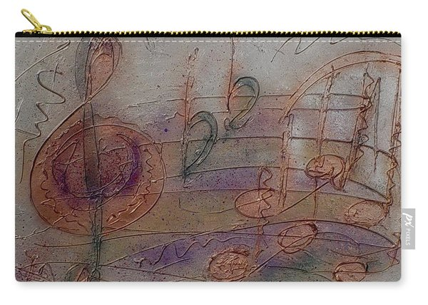 Composition In B Flat Carry-all Pouch