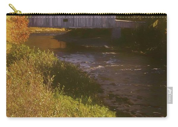 Comstock Covered Bridge Carry-all Pouch
