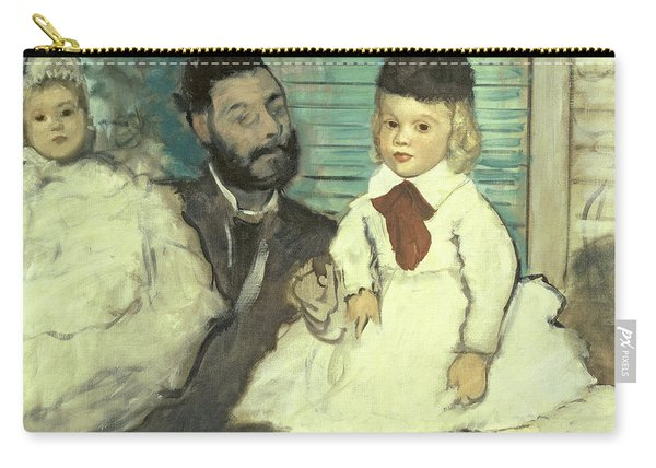 Comte Le Pic And His Sons Carry-all Pouch