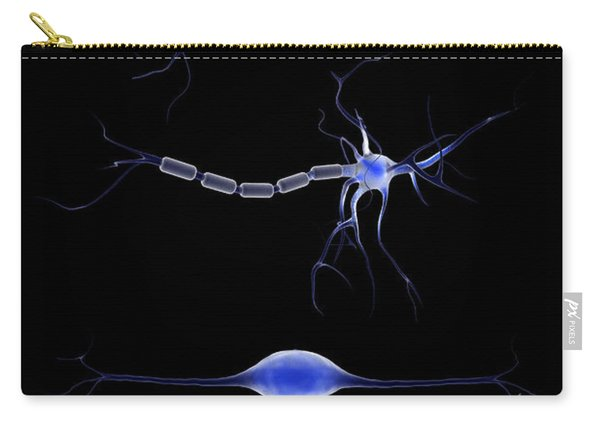 Conceptual Image Of A Neuron Carry-all Pouch
