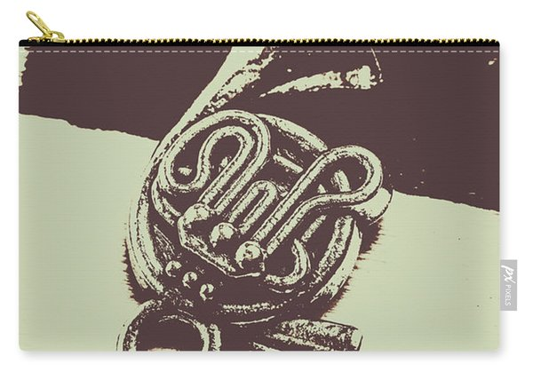 Concert Of A French Horn Carry-all Pouch