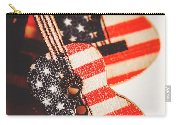 Concert Of Stars And Stripes Carry-all Pouch