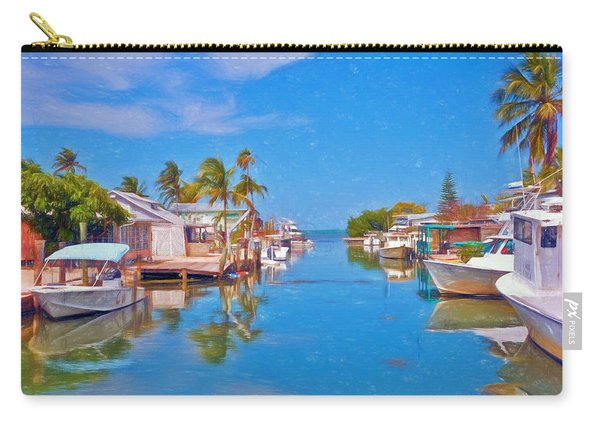 Conch Key Waterfront Living 3 Carry-all Pouch
