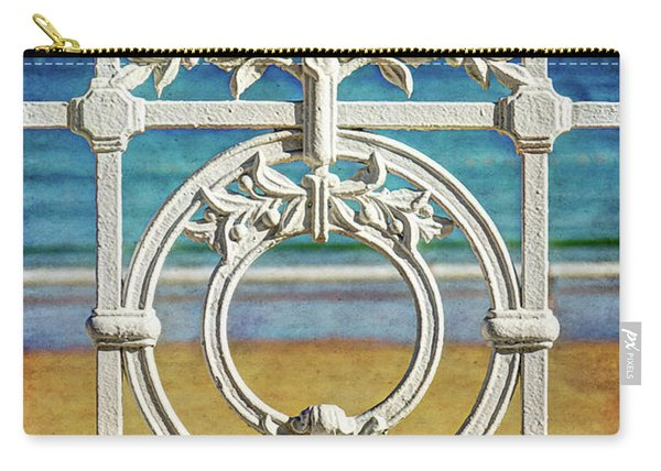 Concha Bay Railing In San Sebastian Carry-all Pouch