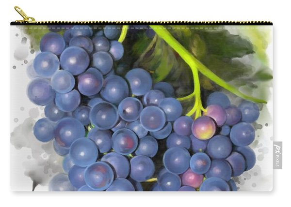 Concord Grape Carry-all Pouch