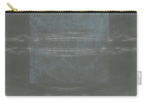 Concrete 2- Contemporary Abstract Art By Linda Woods Carry-all Pouch