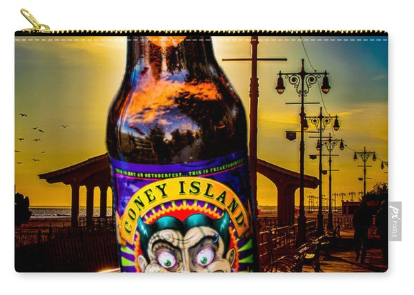 Coney Island Beer Carry-all Pouch