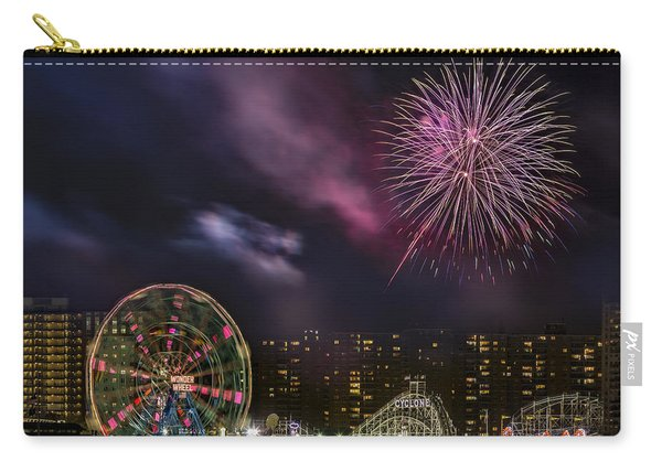 Coney Island Fireworks Carry-all Pouch