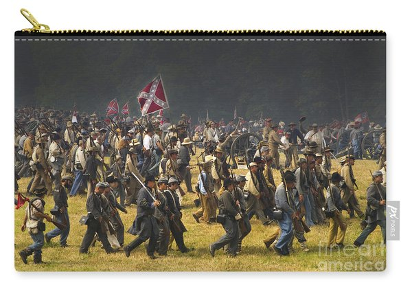 Confederate Charge At Gettysburg Carry-all Pouch