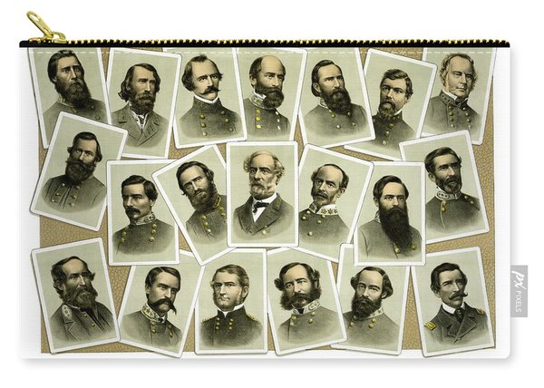 Confederate Commanders Of The Civil War Carry-all Pouch