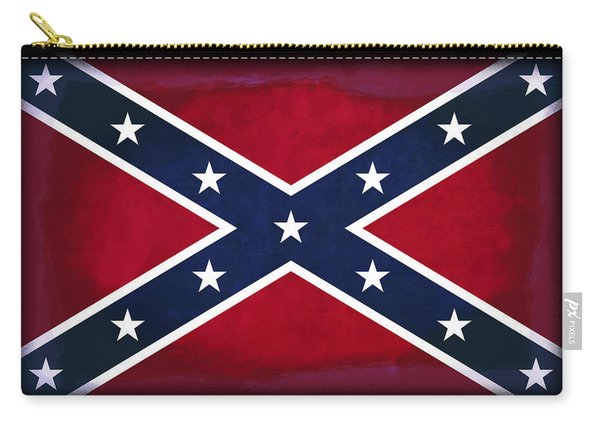 Confederate Rebel Battle Flag Carry-all Pouch