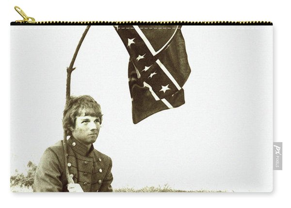 Confederate Soldier Carry-all Pouch