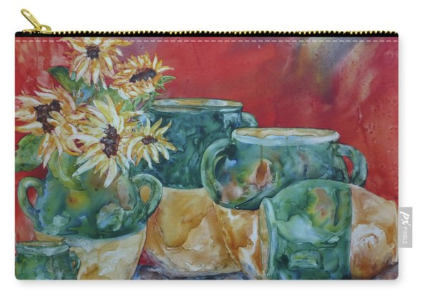 Confits And Sunflowers Carry-all Pouch