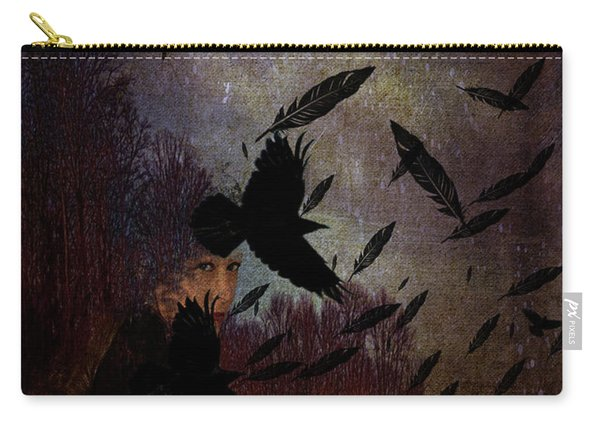 Conflict Of The Crows Carry-all Pouch