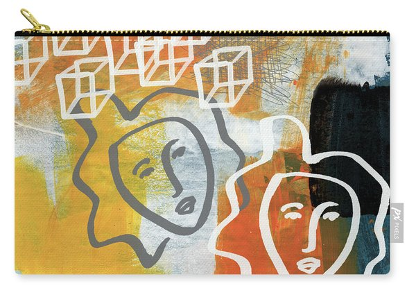 Conflicting Emotions Carry-all Pouch