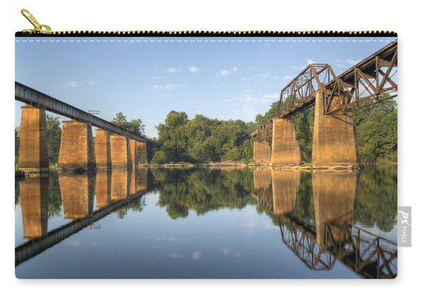 Congaree River Rr Trestles - 1 Carry-all Pouch