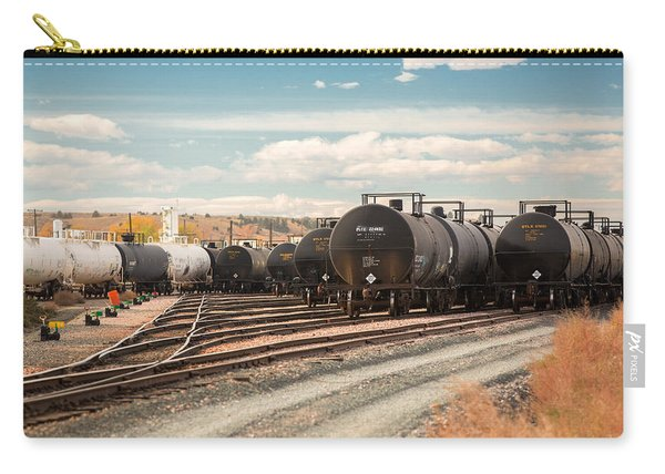 Congested Tracks Carry-all Pouch