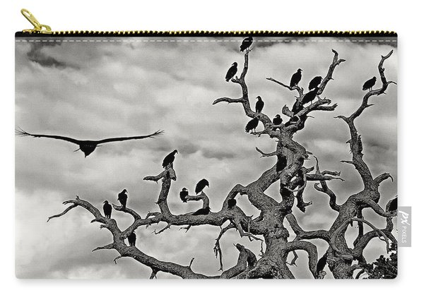 Congress Of Vultures Carry-all Pouch