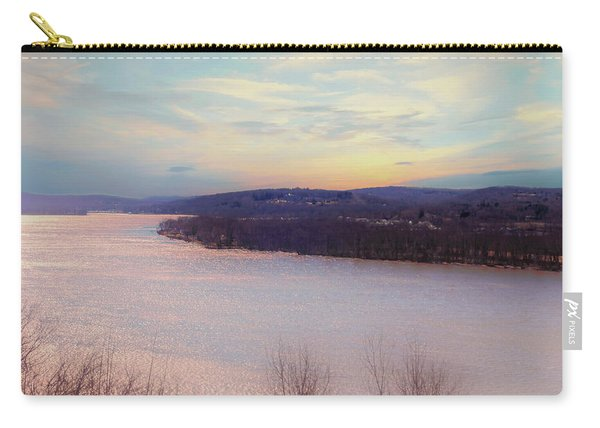 Connecticut River View From Gillette Castle. Carry-all Pouch
