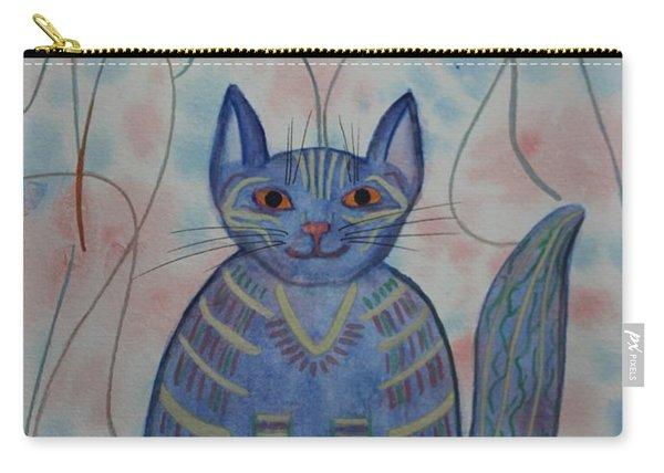 Connection Cat  Carry-all Pouch