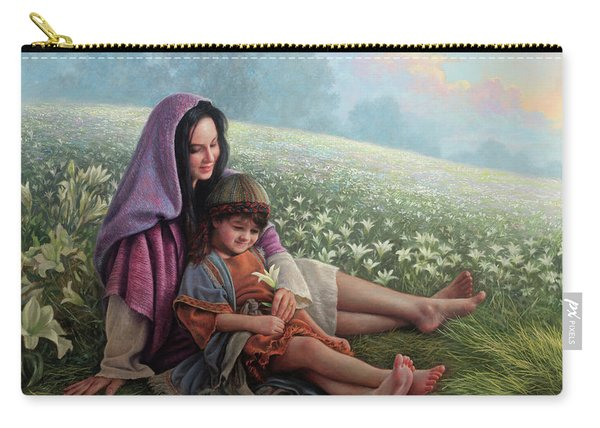 Consider The Lilies Carry-all Pouch