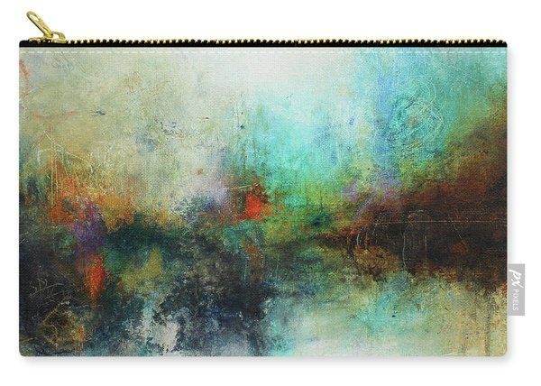 Contemporary Abstract Art Painting Carry-all Pouch