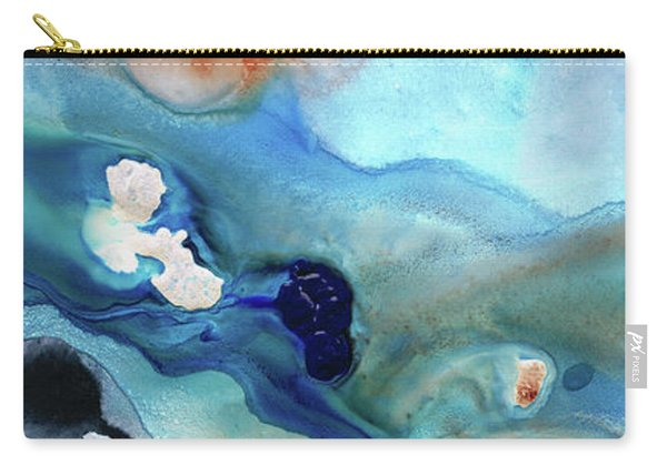 Contemporary Abstract Art - The Flood - Sharon Cummings Carry-all Pouch