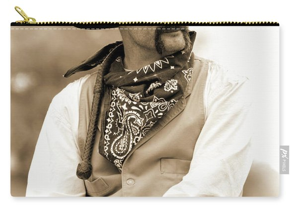 Content In The Saddle Carry-all Pouch
