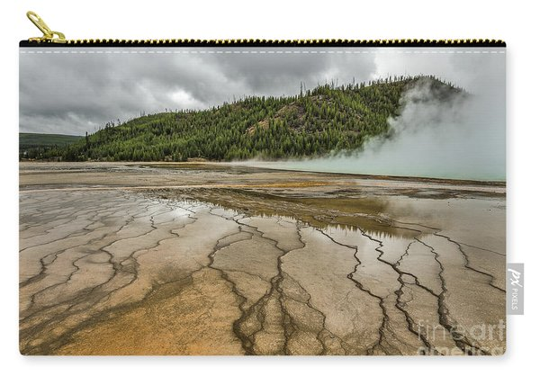 Contrasts At Midway Geyser Basin Carry-all Pouch