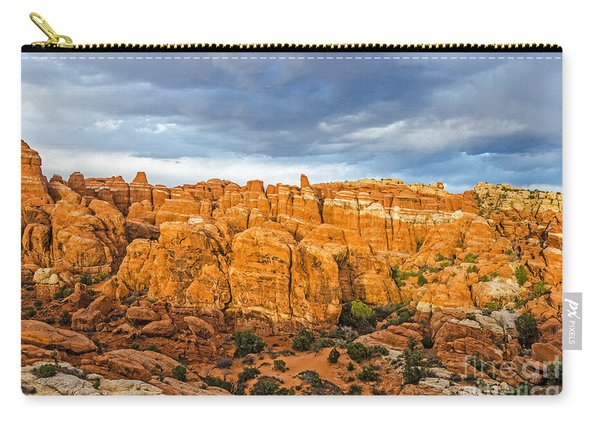 Contrasts In Arches National Park Carry-all Pouch