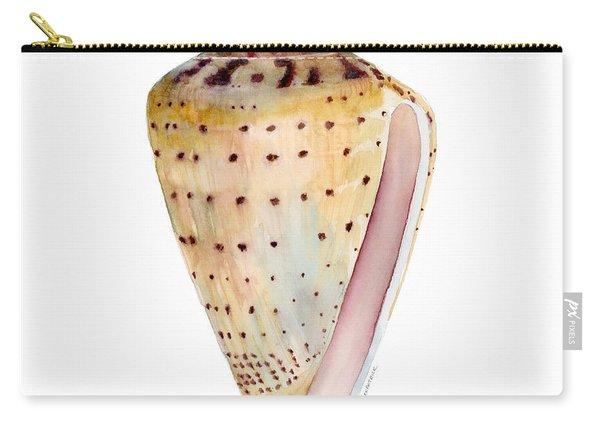 Conus Leopardus Shell Carry-all Pouch