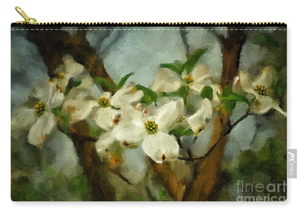 Cool Breeze Painterly Carry-all Pouch