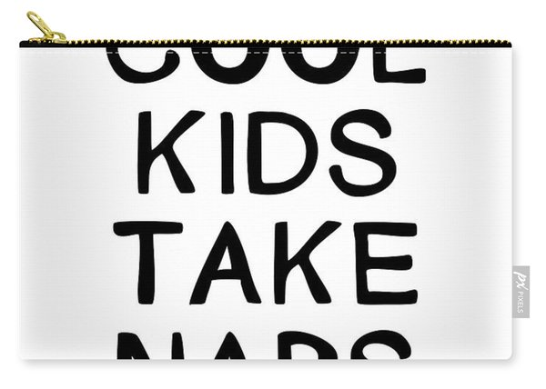 Cool Kids Take Naps- Art By Linda Woods Carry-all Pouch