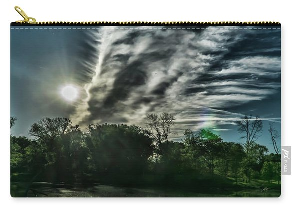 Cool Looking Cloud In The Morning Sun Carry-all Pouch