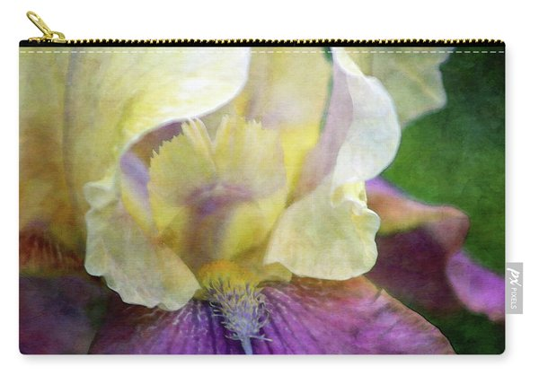 Cool Toned Purple Iris 0319 Idp_3 Carry-all Pouch