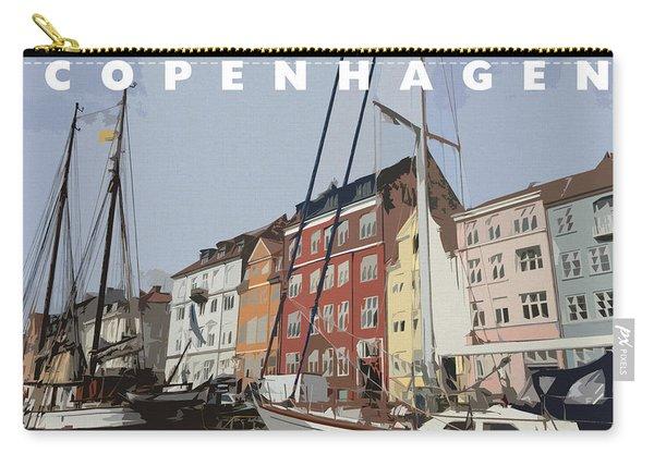 Copenhagen Memories Carry-all Pouch